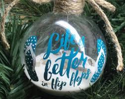 flip flop ornament etsy