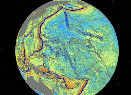 Stone Age World Map by Geological Wonderland Revealed In New Seafloor Map