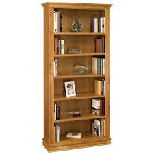 a u0026e wood design cherry3684 monticello 36 x 84 bookcase in natural