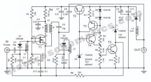 fm antenna amplifier circuit