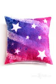 American Flag Home Decor Flag Silk Decorative Pillow