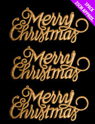merry christmas signs new 3 pack glitter merry christmas sign decorations hangers