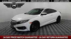 honda civic 2016 coupe used 2016 honda civic coupe ex t body kit stock 5448 jidd motors
