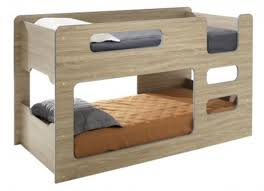 SINGLE OVER SINGLE DOMINO LOWLINE CABIN STYLE BUNK BED ASSORTED - Lo line bunk beds