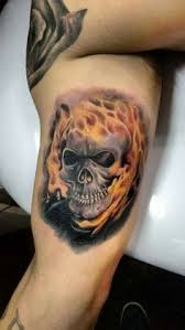 ghost skull tattoo nvsi
