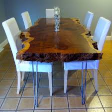hand crafted kitchen tables hand crafted live edge redwood trends kitchen table picture