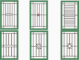 modern aluminum window grill design home image