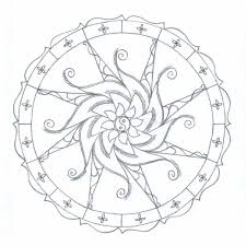 fractal coloring pages bestofcoloring