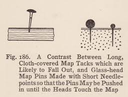 map tacks a discourse on map pins and pinnage maps diy cartography