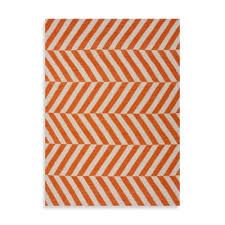 Orange And White Rugs Buy Orange Rugs From Bed Bath U0026 Beyond