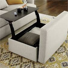 Coffee Table Storage Ottoman With Tray by Best Of Coffee Table With Seating Elegant Table Ideas Table Ideas