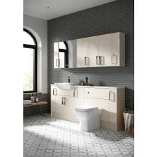 Plain Bathrooms Fitted Bathroom Base Units White Grey U0026 Cream Easy Bathrooms