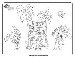 jake and the neverland pirates coloring pages free printable