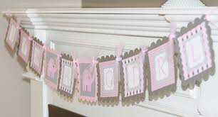 pink and gray baby shower elephant it s a girl baby shower pink grey or purple