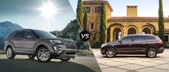 Ford Explorer 2016 - ford explorer vs 2016 buick enclave