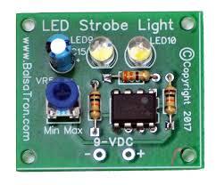 led strobe light kit adjustable led strobe light kit balsatron inc