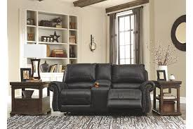 milhaven reclining loveseat with console ashley furniture homestore