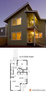 Contemporary House Plans Contemporary Home Plan By Nir Pearlson 1300sft Houseplans Plan