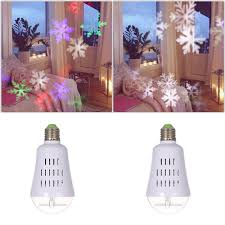 Light Flurries Snowflake Projector Review by E27 4w Dynamic Snowflake Film Projector Bulb Sales Online