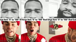 Cing Memes - heated exchange 6ix9ine bets 100 000 broner loses to vargas