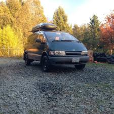 toyota awd 1995 toyota previa le sc alltrac supercharged lifted awd adventure