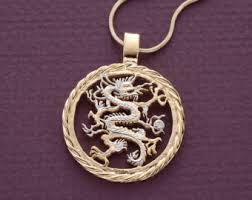 skyrim dragon pendant necklace images Dragon pendant etsy jpg