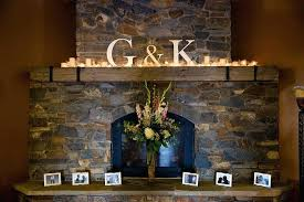How To Decorate A Stone by Decorating A Stone Fireplace Mantel For Christmas Decorate Baby