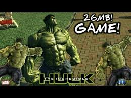 26mb download incredible hulk game free android