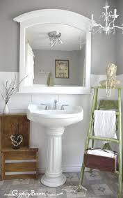 wainscoting bathroom ideas diy bathroom makeover bathroom ideas and maintence pinterest