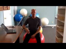 Yoga Ball As Desk Chair How To Use An Exercise Ball Chair Plus Standing Desk Tips Youtube