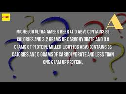 calories in miller light beer how many calories are in a miller light beer youtube