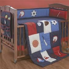 Sports Themed Crib Bedding The Score Crib Bedding Set