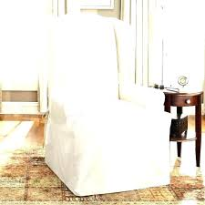 slipcover for chair wing chair slipcover neoblog info