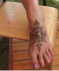 foot henna tattoo looking cool jpg