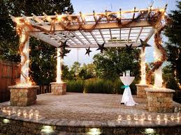 outdoor wedding venues illinois the wedding garden venue carbondale il weddingwire