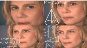 Confused Face Meme - math lady confused lady know your meme
