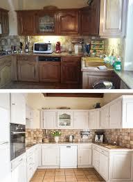 cuisine avant apr鑚 relooking d une cuisine en bois avant après nos projets