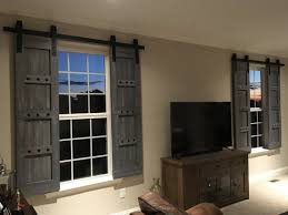 Shutters For Interior Windows Interior Window Barn Door Sliding Shutters Barn Door