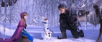 silly snowman frozen