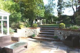 Split Level Garden Ideas Bi Level Landscaping Beautiful Gardens Out Door Dining