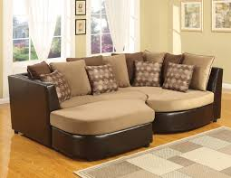 Overstock Chaise Furniture Cozy Living Room Using Stylish Oversized Sectional