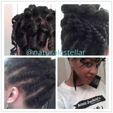 hair pic of the week flat twist updo curl la la spirals