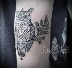 owl ornamental by david hale design of tattoosdesign