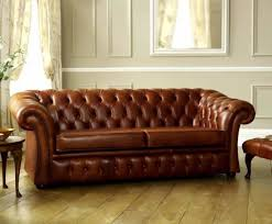 Chesterfield Sofa Brown Brown Leather Living Room Classic Chesterfield Sofa Brown