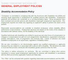 light duty at work rules sle human resources policies sle procedures for small