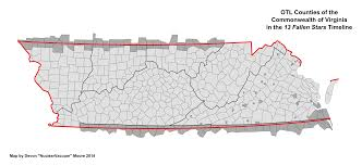 Virginia Map Counties by Image Counties Of Virginia 13 Fallen Stars Png Alternative