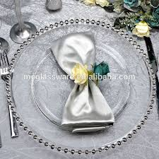 silver wedding plates high quality wedding gold silver chargers plates wholesale buy