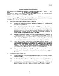 editable consulting agreement template word fill print