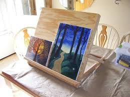 how to make a simple table top easel tabletop easel by roger lumberjocks com woodworking community