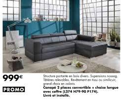 lambermont canapé meubles lambermont promotion canapé 2 places convertible chaise